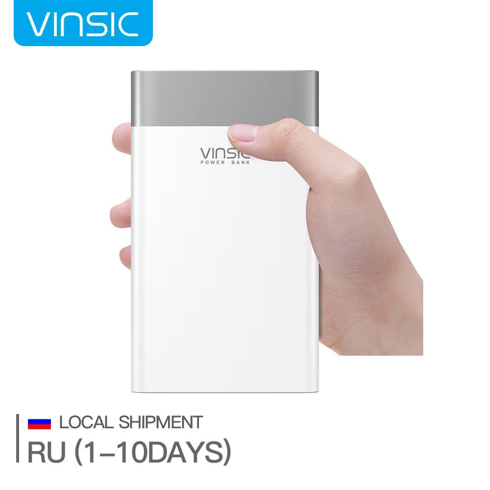 bilder für (Schiff von Russland) vinsic p3 20000 mah quick charge 3,0 energienbank qc.3.0 & 2.4a micro usb & 3a typ c ausgang externe ladegerät