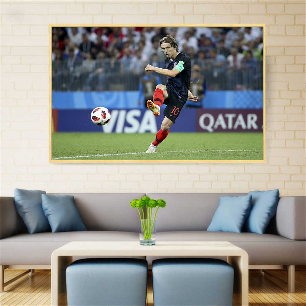 Aliexpress Decoration Maison Detail Feedback Questions About Luka Modric Poster Golden Ball