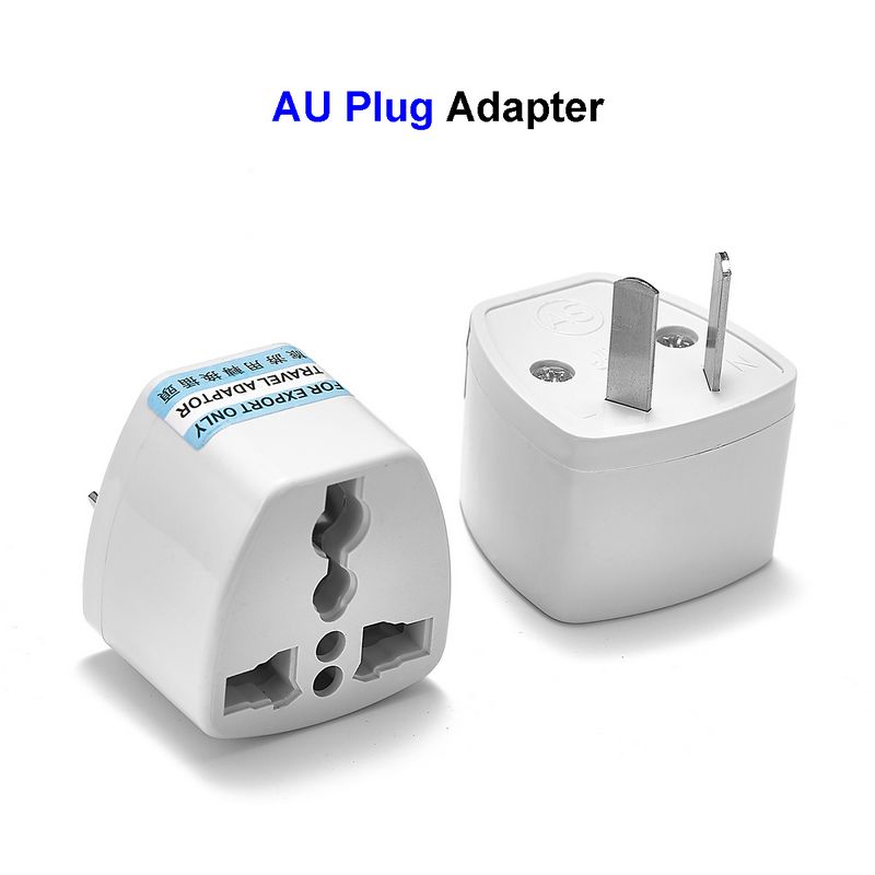 1 Pcs Universal Power Adapter AC Travel Adaptor US EU UK To AU Australia Plug Adapter Converter Electrical Socket