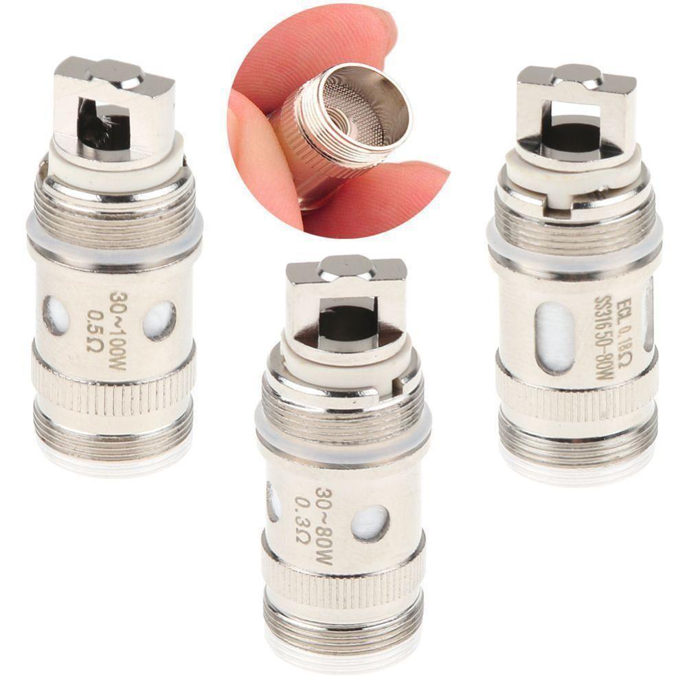 5pcs/lot EC coil head  fit for iJust S/iJust 2/iJust 2 mini/Melo/2/3/Melo 3 Mini/Lemo Atomizer Tank Vaporizer istick pico 75w