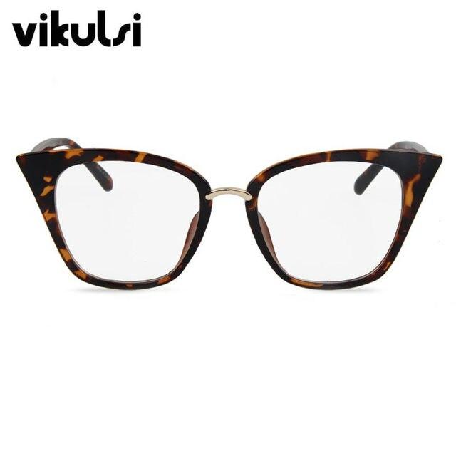 Online Shop 2017 Cat Eye eye glasses frames For Women Brand Designer ...