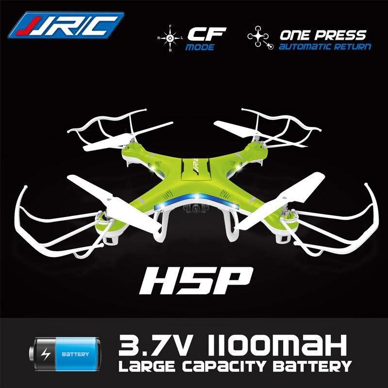 Оригинальный jjrc H5P 6 оси Gryo Quadcopter с 2.0MP Камера один ключ возврата headless режим Радиоуправляемый Дрон RTF 2.4 ГГц