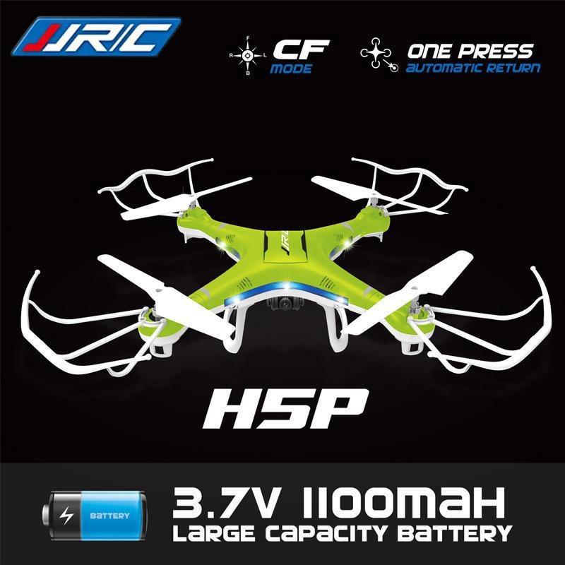 Original JJRC H5P 6-Axis Gryo quadcopter With 2.0MP Camera One Key Return Headless Mode RC drone RTF 2.4GHz