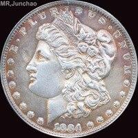 Hoa Kỳ 1884-O 90% Bạc Morgan One Dollar Đồng Tiền Sao Có Thể Lựa Chọn Nhiều Loại để Hãy Old Phong Cách