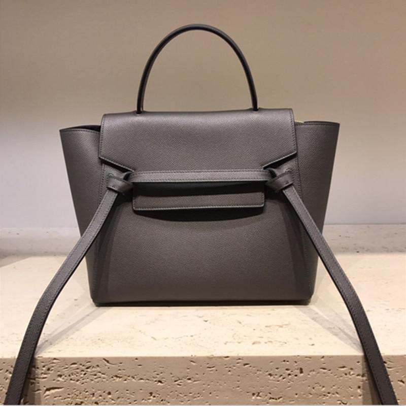 정품 가죽 팜 패턴 여성 숄더 가방 럭셔리 핸드백 여성 가방 디자이너 숙녀 핸드 가방 bolsas de mujer-에서숄더 백부터 수화물 & 가방 의  그룹 1