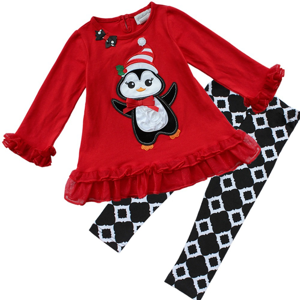 Aliexpress Buy 2Pcs Baby Girls Kids Christmas Suit