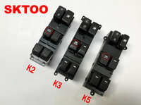 SKTOO For Kia k2 k3 k5 glass regulator switch assembly left front door power window button / window lifter switch