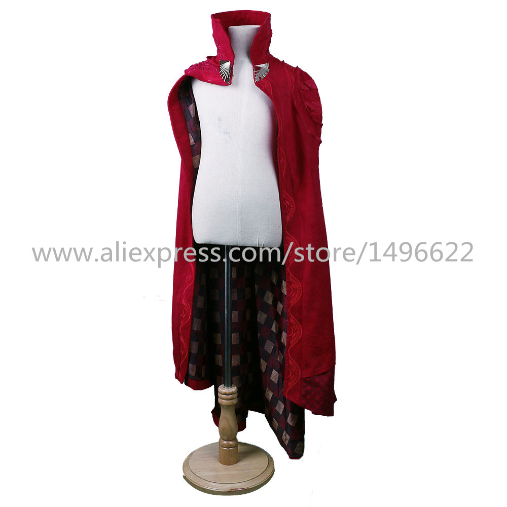 Cos Marvel Movie Doctor Strange Costume Cosplay Steve Red Cloak Kids Costume Robe Halloween Costume Party
