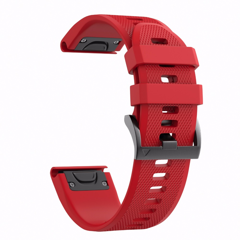 Sport all'aria aperta Cinturino con Easy Fit Del Cinturino Del Silicone per Garmin Fenix 5/Forerunner 935 cinturino di Ricambio per Garmin 22mm Banda