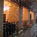 10 m * 2 m Iluminação LED Brilho 640 LED String Luzes De Fadas Cortina de Fundo do Casamento Festa Decoração de Natal Ao Ar Livre 110 V 220 V