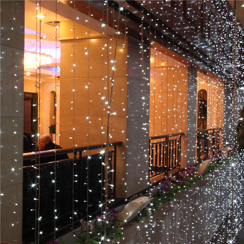10m 2 m LED Twinkle Lighting 640 LED String Fairy Lights