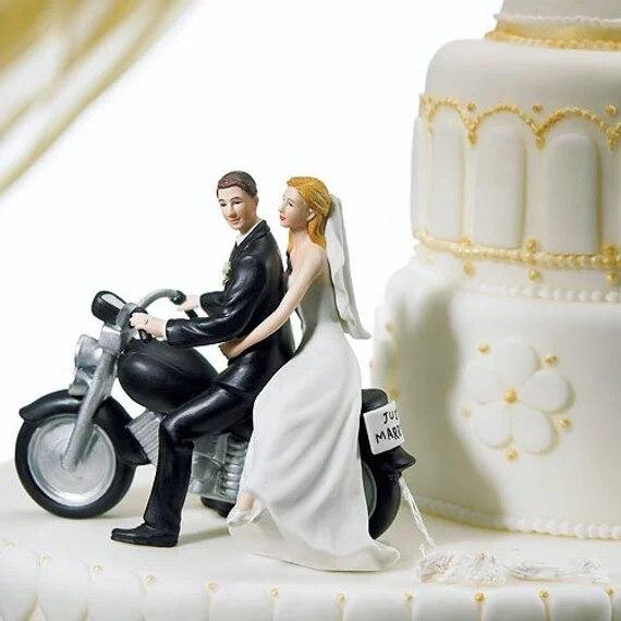 Wedding Cake Topper Bride Groom Couple Figurine Party Favor Decoration