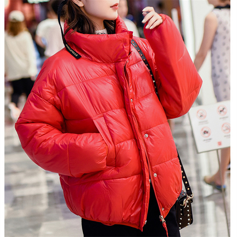 2018 Winter Women   Parkas   Cotton Padded Jacket New Fashion Women's Windproof Cotton Jacket Warm Outerwear   Parka