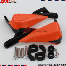 "Motocicleta Guardamanos Guanteletes Encaja KTM EXC SX SXF XCR XCW XCF SMR 7/8 ""22mm O 1-1/8 28mm Fat Bar Dirt Bike MX Motocross"