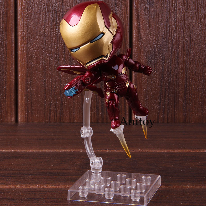 Marvel Avengers Nendoroid 988 Mk50 Iron Man Mark 50 Infinity Edition PVC Ironman Action Figure Collectible Model Toy 1