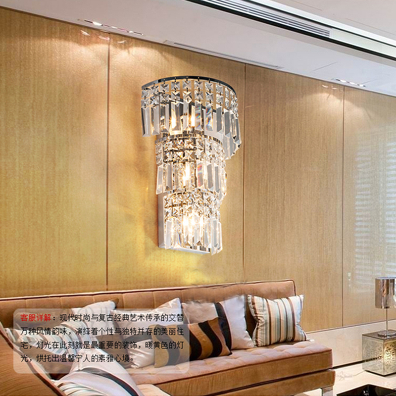 Aliexpress.com : Buy Modern Crystal Wall Light Large Wall Lamp Living Room  Modern Led Crystal Wall Lamp Large Crystal Wall Sconces For Bedroom Lights  From ...