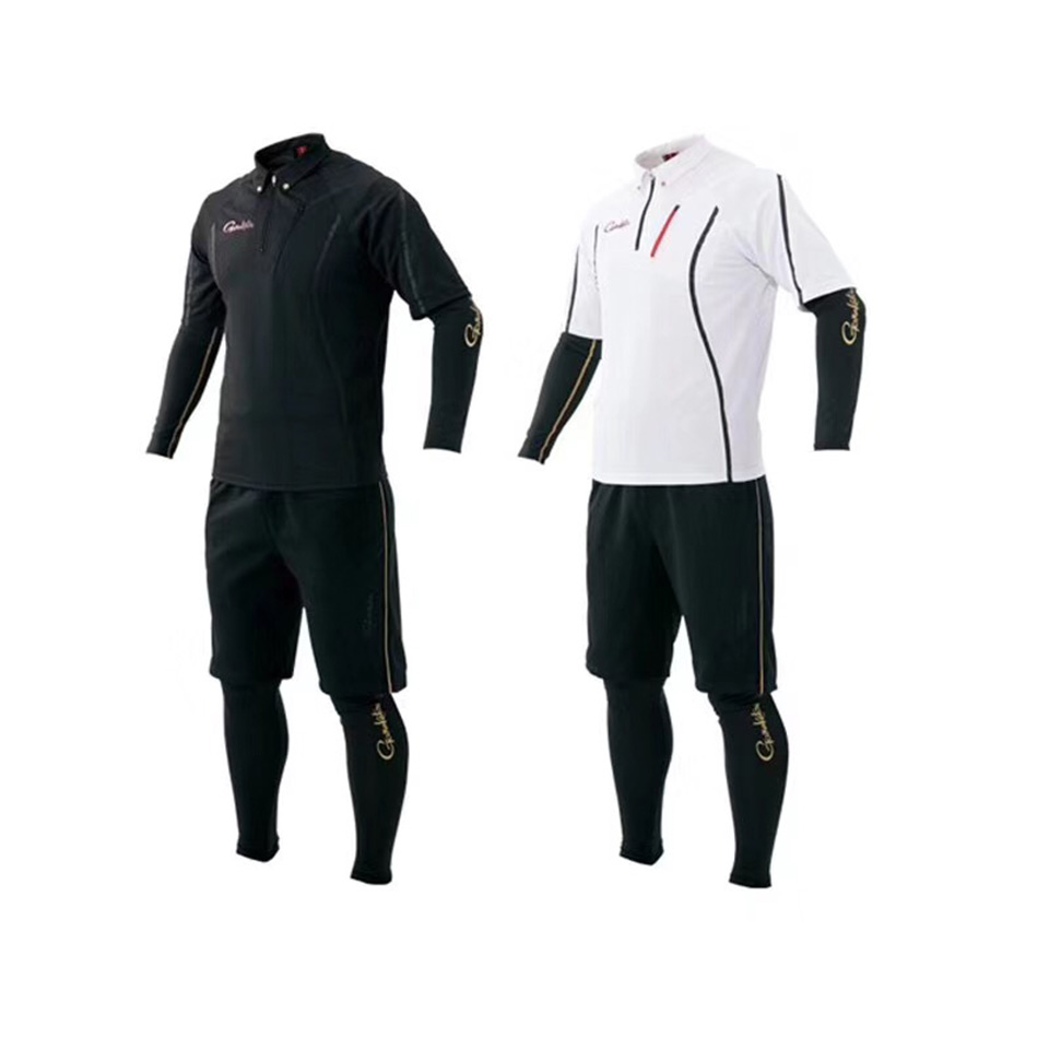 Fishing Clothes Suit T-Shirt Shorts Sleeve M/L/XL/XXL/XXXL Sun Protection Quick Drying UV Resistance Made In Japan