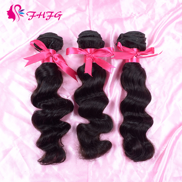 Fhfg Accessory Cheap Human Hair 3 Bundle Deals Hot Selling Peruvian