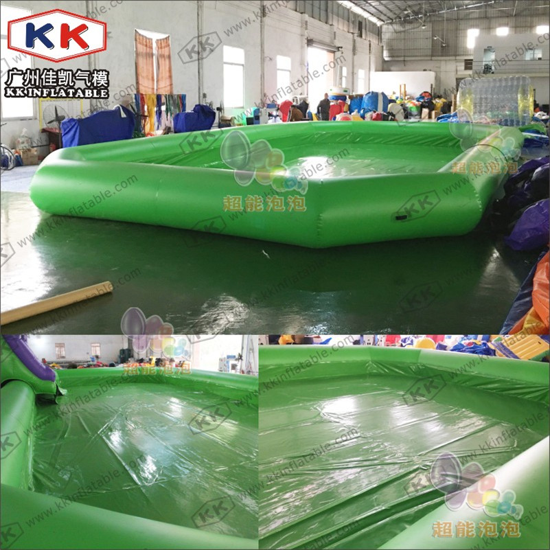 Square Inflatable Pool Water Play Equipments Kids backyard ...
