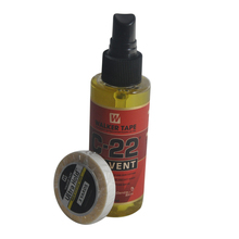 Tape Hair-Extensions Ultra-Hold Adhesives Solvent-Remover C-22 for 1cm--3yards Double-Sided