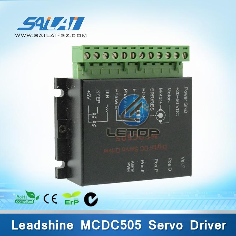 Chear price! leadshine mcdc505 driver servo motor inkjet printer inkjet printer spare part motor driver mcdc505 motor drive for solvent printer