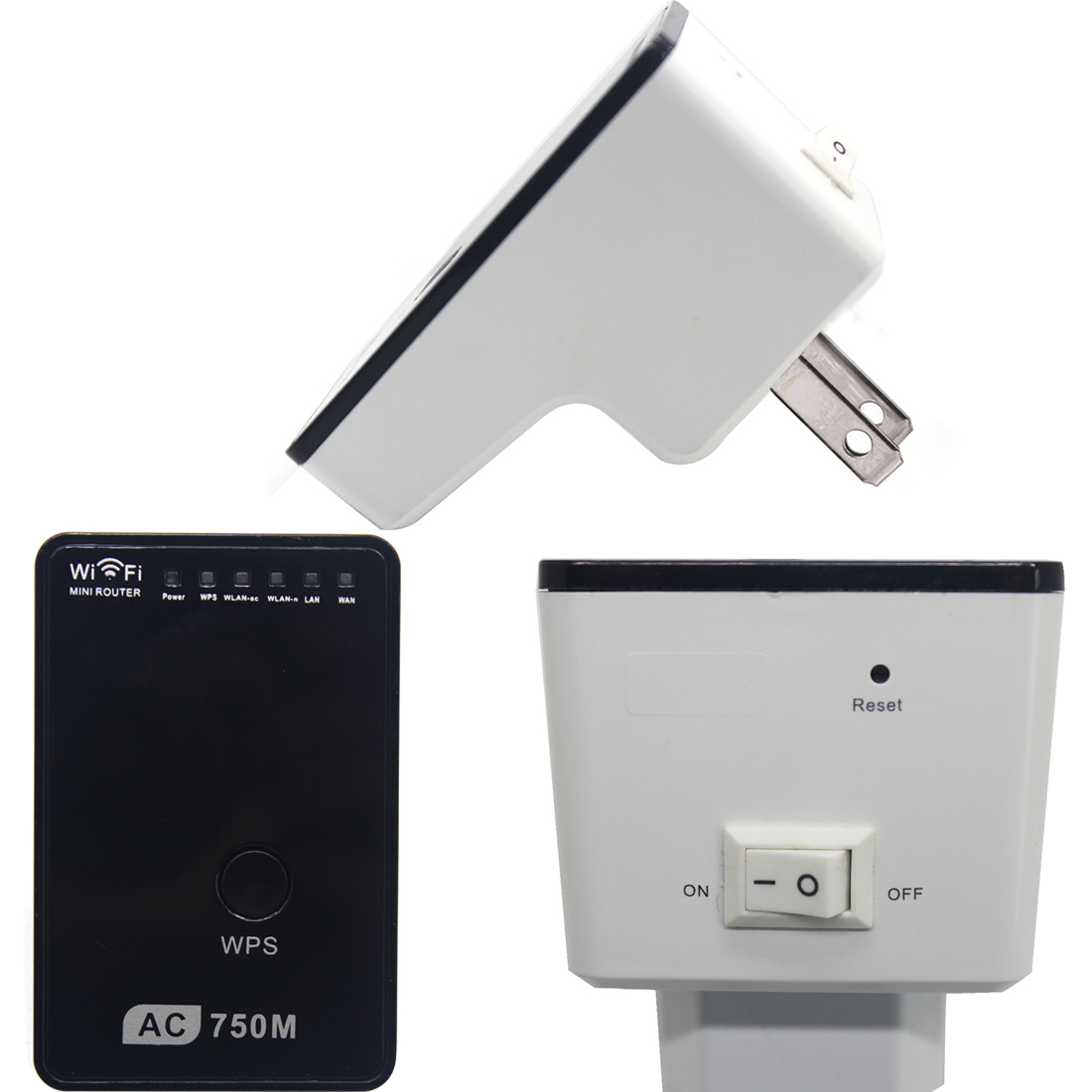 NOYOKERE New Hot Sale 750Mbps Wifi Repeater Wireless Range Extender Booster 802.11N Durable Signal Amplifier wlan EU/US