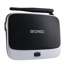 Q7 CS918 TV Box RK3188 Quad Core Android 4.4 Smart TV Box 1080 P 1 GB 2 GB de RAM En Vivo Gratis Bluetooh Set top Android Mini PC TVBox