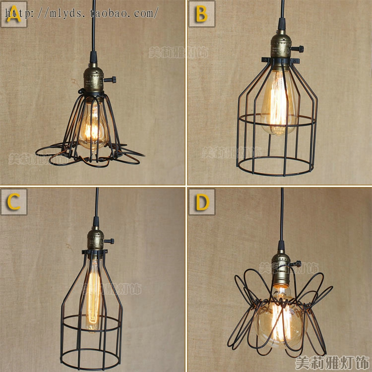 Vintage Pendant Lights Industrial Loft American Retro Lamps creative Restaurant Dining Room Lamp Bar Counter E27 Holder loft style vintage pendant lamp iron industrial retro pendant lamps restaurant bar counter hanging chandeliers cafe room