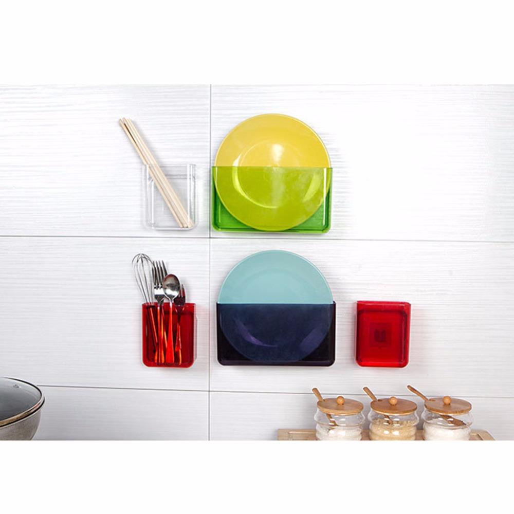 useful household storage products wall mounted storage box nail free