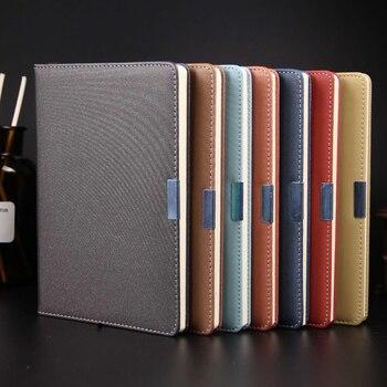 цена 1pcs high quality A5 hardcover notebook horizontal line diary 2019 senior business notebook school office supplies онлайн в 2017 году