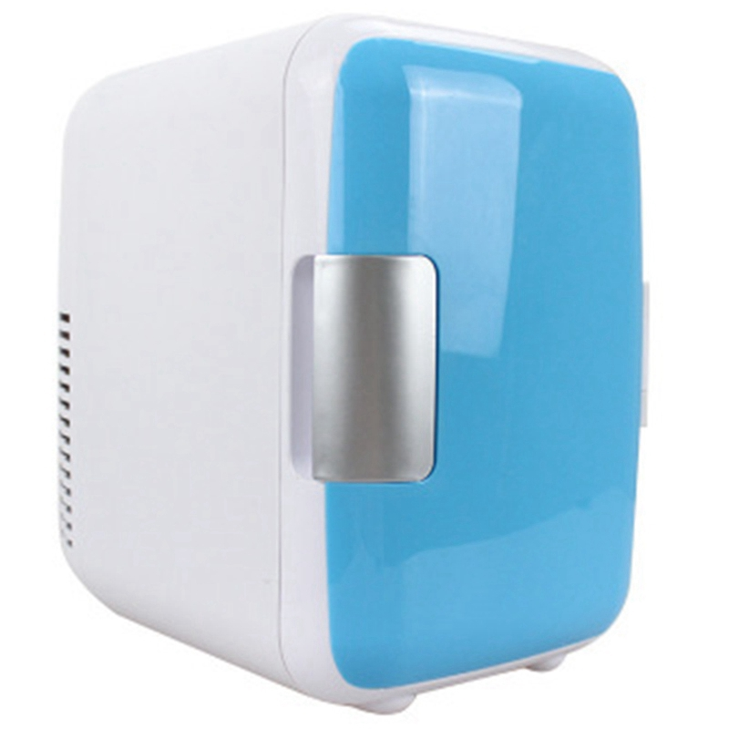 Dual-Use 4L Home Car Use Refrigerators Ultra Quiet Low Noise Car Mini Refrigerators Freezer Cooling Heating Box Fridge