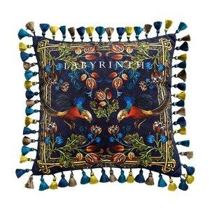 Image 1 - Divano di casa Decorativi Coperte e Plaid Cuscini Luce di lusso retrò golden chicken peluche cuscino del divano copertura copertura dello schienale letto federa