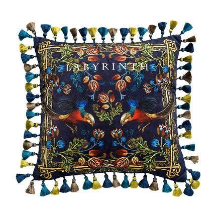 Nhà Trang Trí Sofa Gối Sáng sang trọng Retro gà vàng sang trọng Ghế sofa đệm giường đệm tựa lưng Bao Da vỏ gối