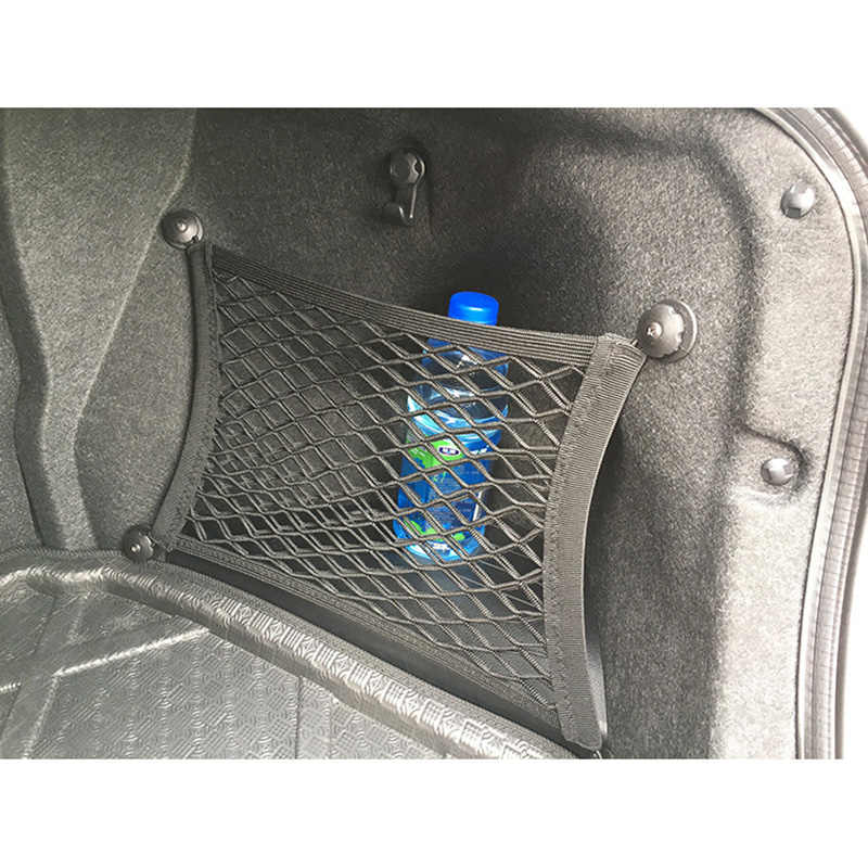 Car Trunk Storage >> Detail Feedback Questions About Auto Rear Trunk Storage Net Mesh Bag