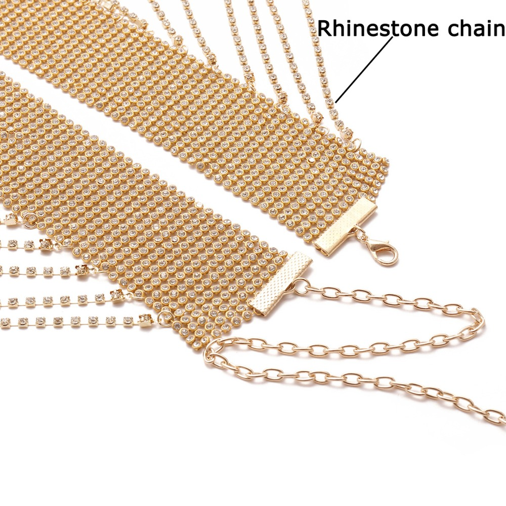 HTB1EWoWffImBKNjSZFlq6A43FXap Festival Rhinestone Body Chain Glitter Skirt Belt