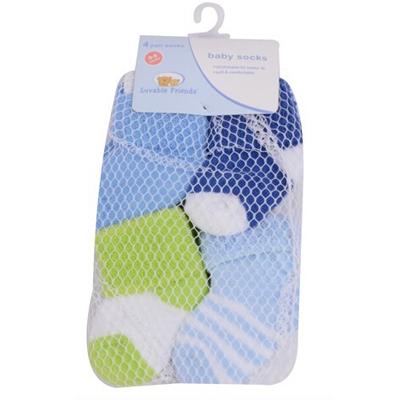 4 Pairslot Baby Newborn Socks 0-3 Months Baby Girl and Boy Cotton Warm Winter Socks for Children (2)