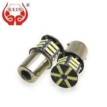 цена на KEIN 4pcs p21w P21/5W 1156 ba15s 1157 bay15d 508 T20 7440 w21w 7443 w21/5w 7020 21SMD DRL Reverse Brake AUTO car Lamp Bulb Light