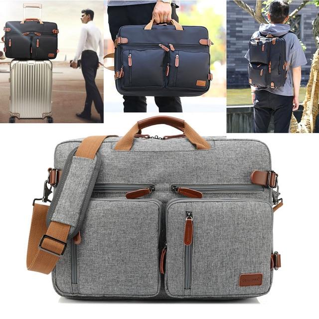 861ad93c4139 Coolbell Laptop Backpack 17 17.3 Inch Multifunctional Briefcase shoulder bag  handbag school Bag For Macbook Pro waterproof