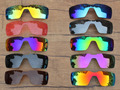 PV POLARIZED Replacement Lenses for Oakley Probation Sunglasses - Multiple Options