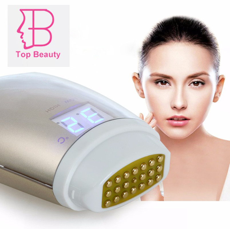 TOP BEAUTY Mini Dot Matrix RF Radio Frequency Wrinkle Removal Skin Rejuvenation Face Lifting Anti-aging Massage Care Machine matrix socolor beauty 6mg