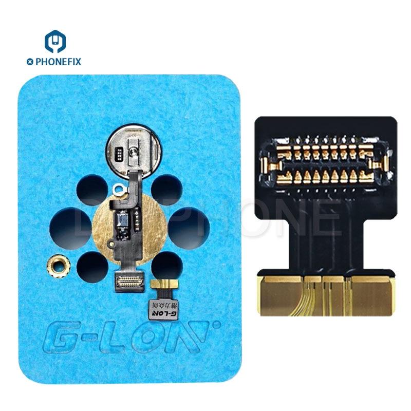 G-LON IMesa Phone Fingerprint Repair FPC Connector Socket Flex Cable For Iphone 7 7P 8 8P Touch ID Fingerprint Repair Flat Cable