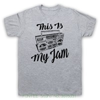 Sleeves Boy Cotton Men T Shirt This Is My Jam Music Slogan Favourite Band Song Tune