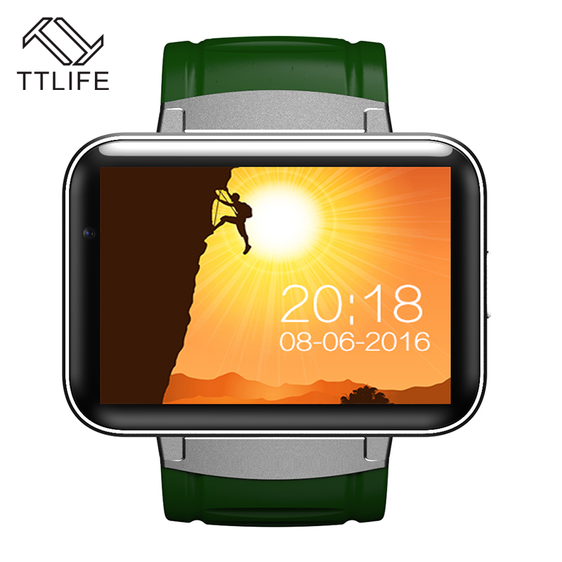 TTLIFE Brand Smart Watches DM98 Camera Smart Clock 3G WIFI GPS Watch MT6572A Dual Core CPU Smart Watch For Android Phone Unisex цена