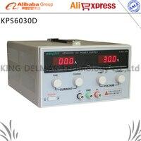 Kps6030d Высокая точность Мощность регулируемый светодиодный Дисплей импульсный источник питания 220 В 0 60 В/0 30a для лаборатории и преподавания