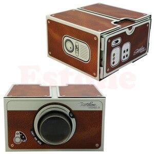 Image 5 - Kostenloser versand Tragbare Karton Smartphone Projektor 2,0/Montiert Telefon Projektor Kino Drop Verschiffen