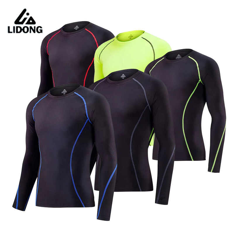 Kids Running Tights Cycling Sports wearing Long Sleeve boy Basketball Jerseys Compression Base layer Shirts Breathable Quick-Dry