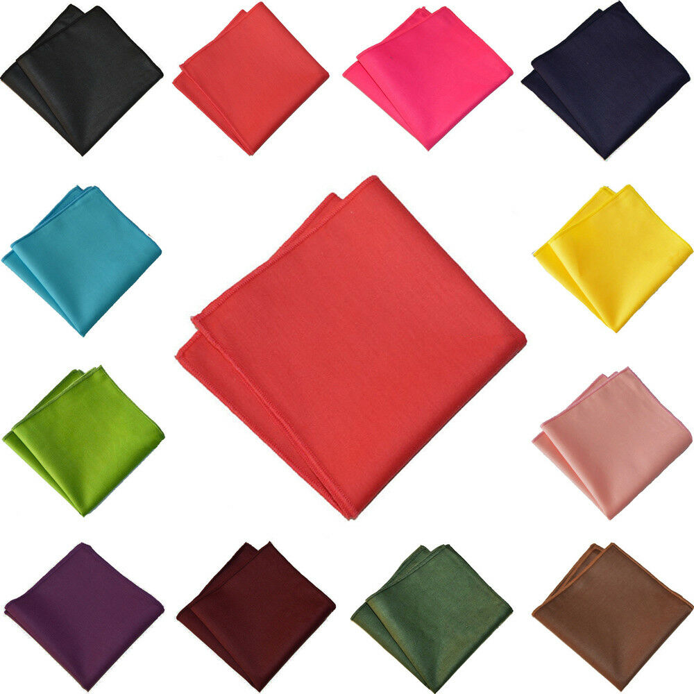 Men's Stylish Colorful Handkerchief Wedding Party Business Pocket Square Hanky YXTIE0510