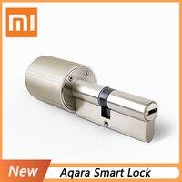 2019 xiaomi mijia aqara Smart Lock Door Home Security Practical Anti theft Door Lock Core with Key work with mi home APP