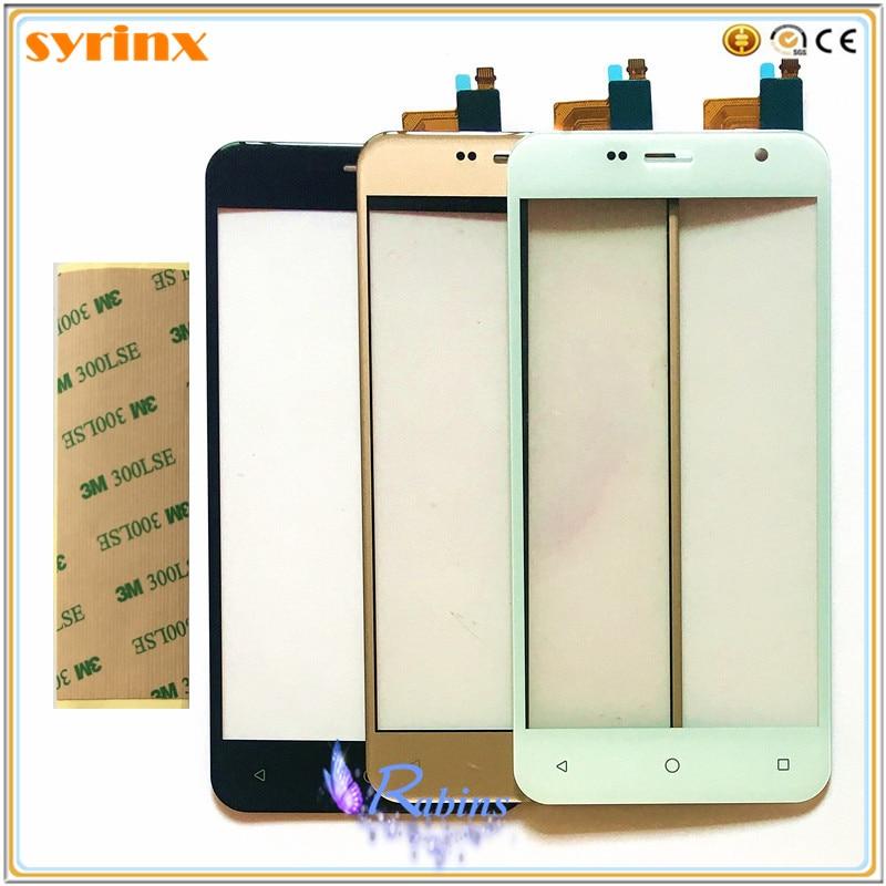 SYRINX + Tape Touch Panel Sensor For Prestigio Muze B7 PSP7511duo PSP7511 PSP7511 Duo Touch Screen Digitizer Touchscreen Glass