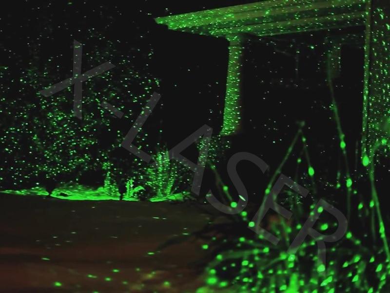 Outdoor Green Laser Projectors Landscape Lighting Christmas